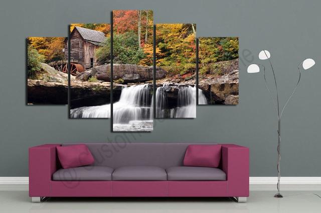 waterfall-landscape-photo-scenery-on-modern-contemporary-art-3-