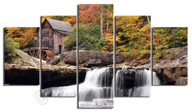 waterfall-landscape-photo-scenery-on-modern-contemporary-art-4-
